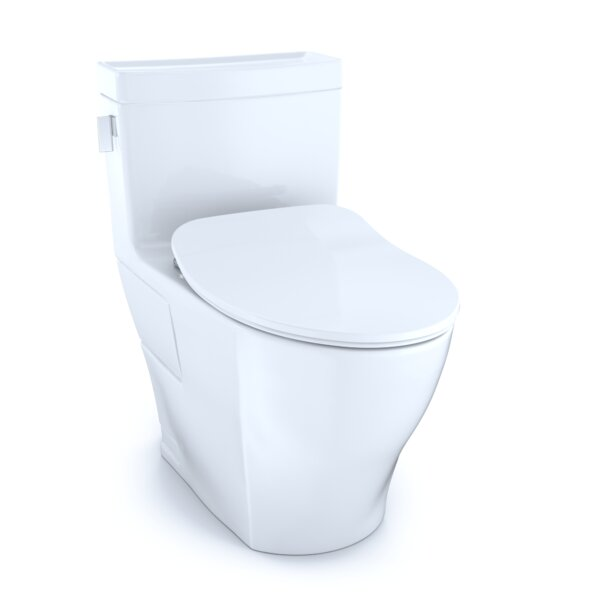 Legato® 1.28 GPF (Water Efficient) Elongated One-Piece Toilet with High Efficiency Flush (Seat Included) by Toto