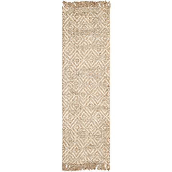 Monagra Handmade Natural/Ivory Natural Fiber Area Rug by Bay Isle Home