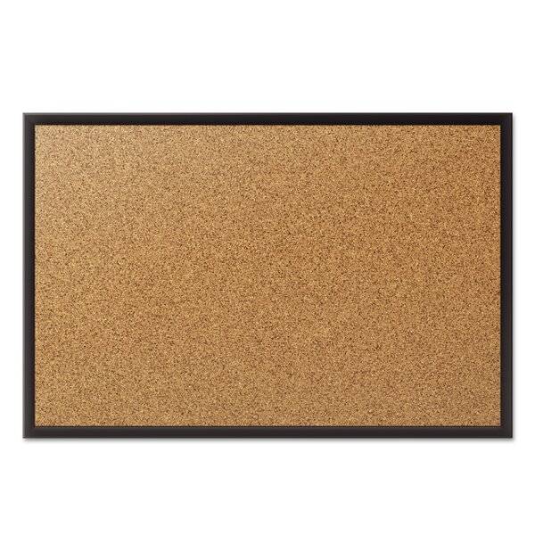Classic Cork Wall Mounted Bulletin Board by Quarte