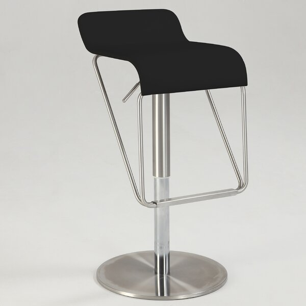 Remigio Swivel Adjustable Height Bar Stool by Orren Ellis Orren Ellis