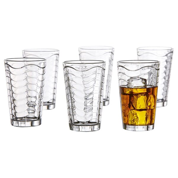 14 oz. Glass (Set of 6) by Style Setter