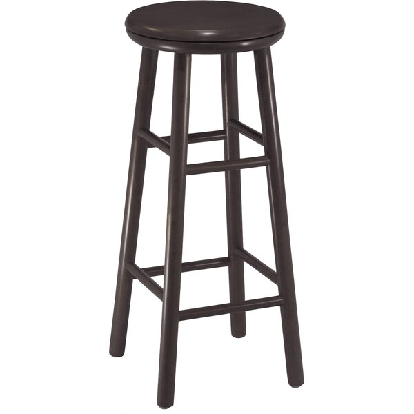 Scenic 30 Swivel Bar Stool (Set of 2) by Red Barrel Studio