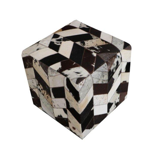Deals Golla Geometric Leather Pouf