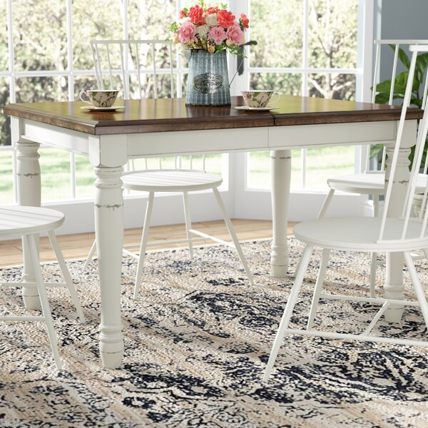 Extendable Dining Table by Laurel Foundry Modern Farmhouse