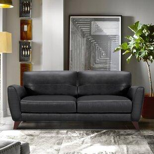 Caloundra Contemporary Leather Sofa