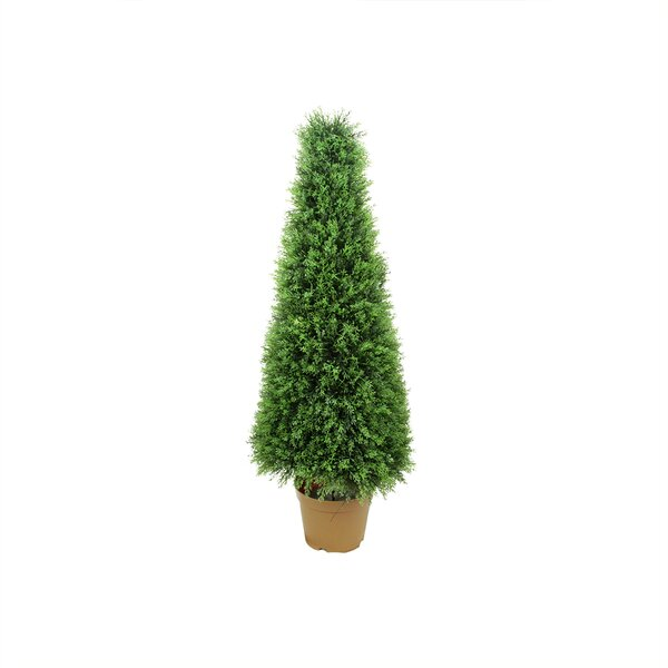 Two-Tone Cypress Cone Topiary in Pot by Northlight Seasonal