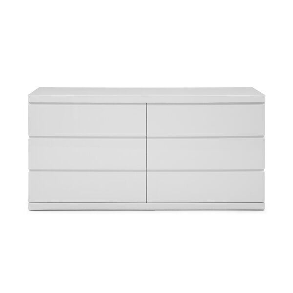 Salia 6 Drawer Double Dresser by Orren Ellis