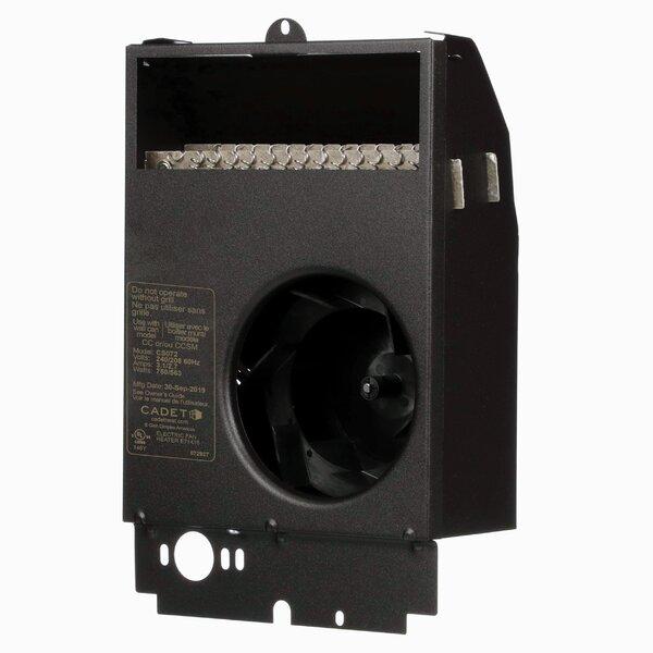 Com-Pak Plus Series Wall Insert Electric Fan Heater By Cadet