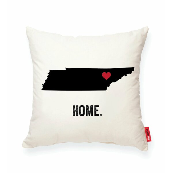 Pettry Tennessee Cotton Throw Pillow by Wrought Studio