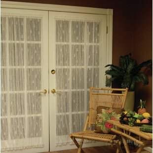 Deija Door Rod Pocket Single Curtain Panel