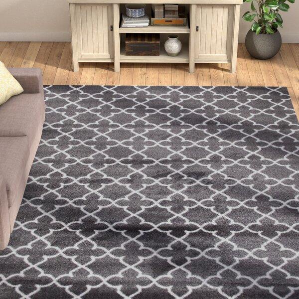 Spaulding Gray Indoor/Outdoor Area Rug by Andover Mills