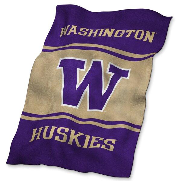 Washington Ultra Soft Throw by Logo Brands