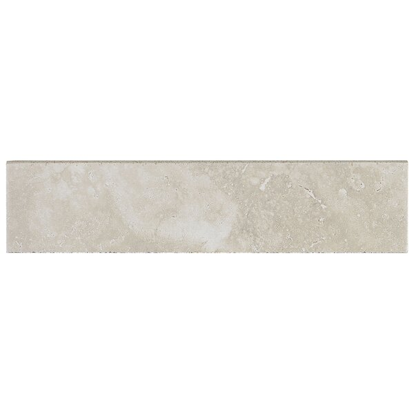 Davenport 12 x 3 Porcelain Bullnose Tile Trim in Pier by Daltile