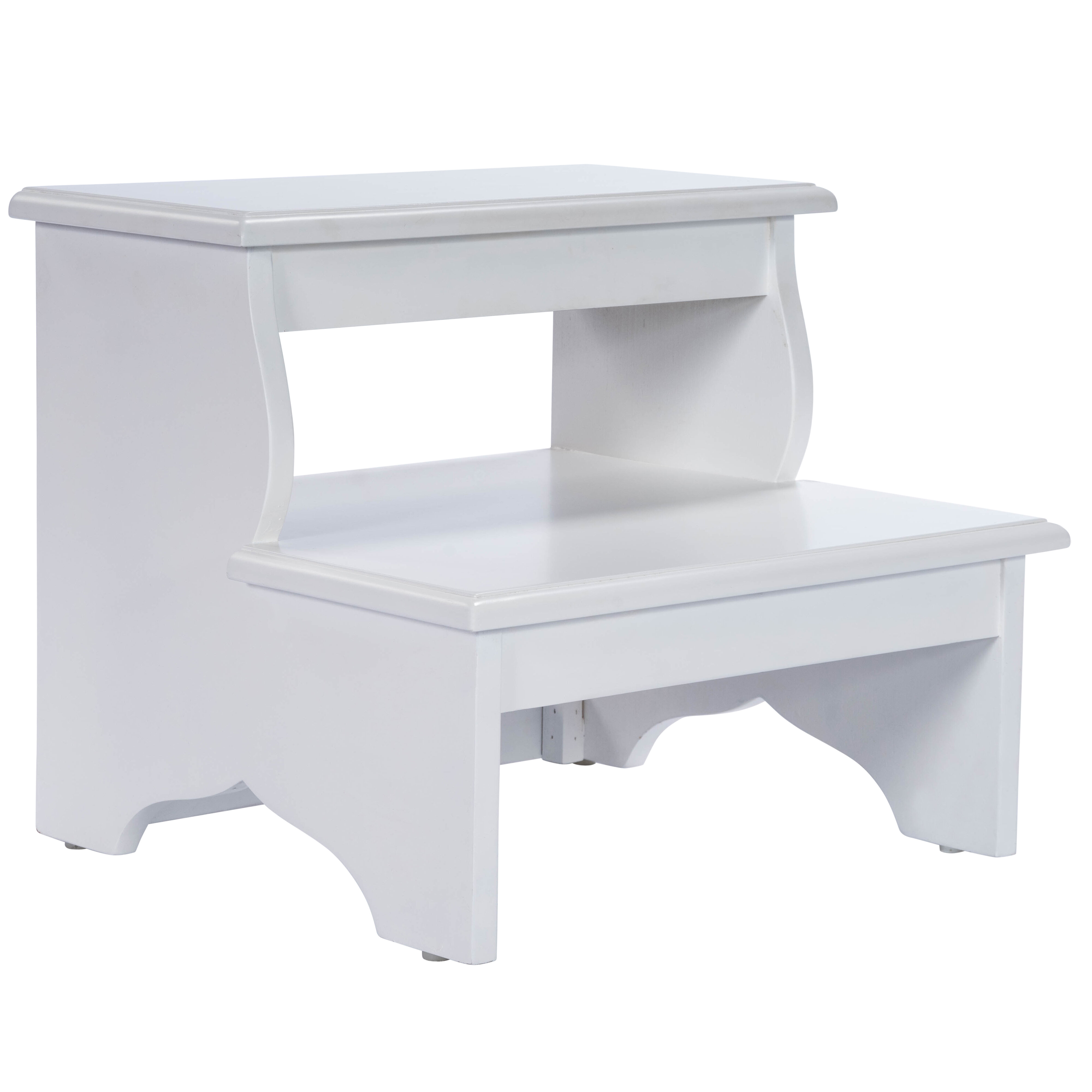 Magnificent Copley 2 Step Wood Step Stool With 375 Lb Load Capacity Creativecarmelina Interior Chair Design Creativecarmelinacom