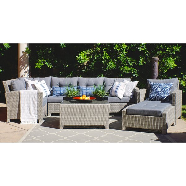 Cicero 8 Piece Sectional Seating Group with Cushions by Sol 72 Outdoor