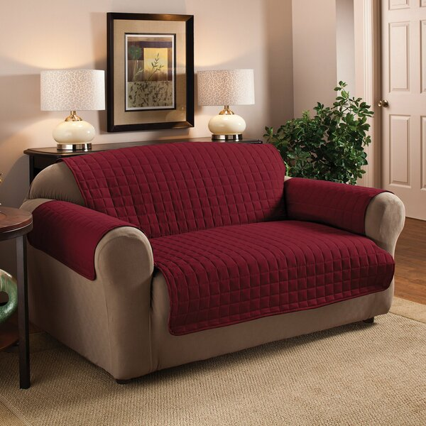 Loveseat Protector Slipcover by Red Barrel Studio