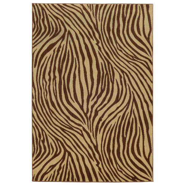 Tommy Bahama Voyage Beige / Brown Abstract Rug by Tommy Bahama Home