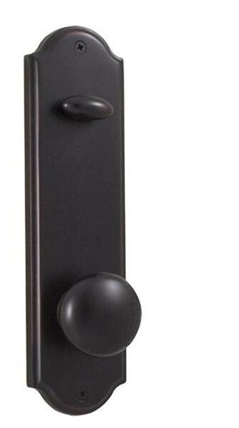 Mansion / Philbrook Single Cylinder Entrance Knobset by Weslock