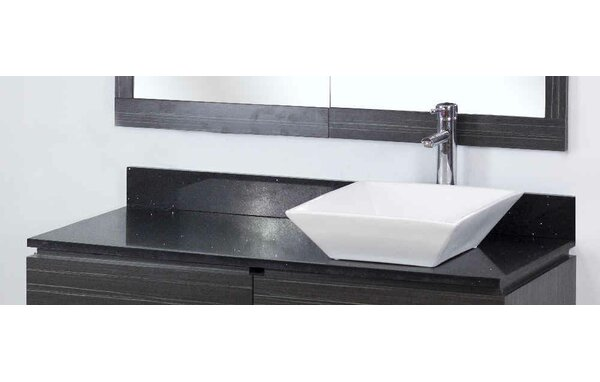 Dunamuggy 48 Wall-Mounted Single Bathroom Vanity Set by Royal Purple Bath Kitchen