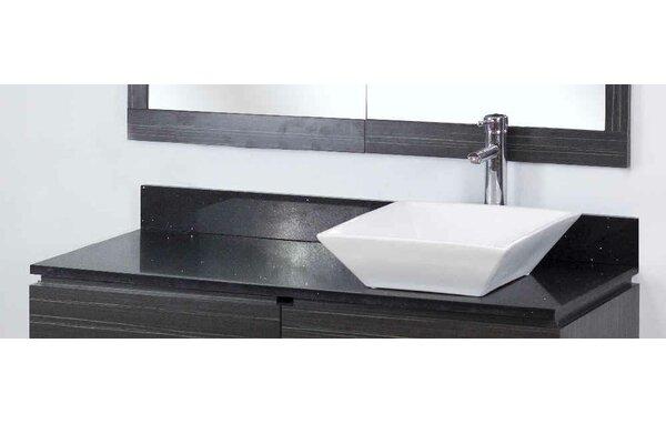 Dunamuggy 48 Wall-Mounted Single Bathroom Vanity Set by Royal Purple Bath Kitchen