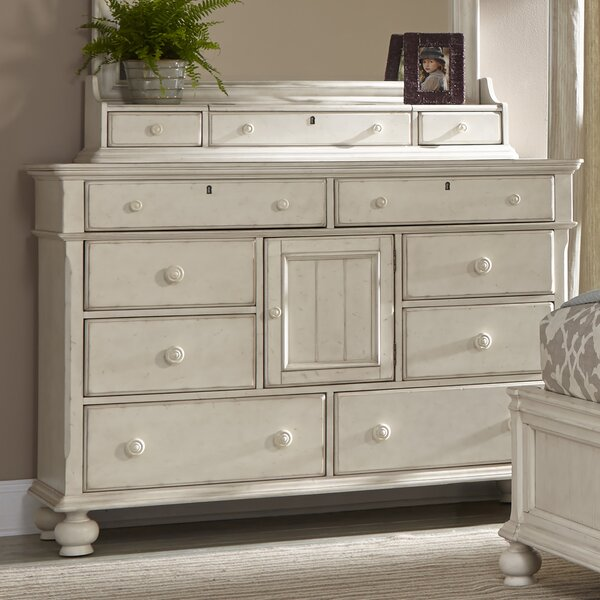 Faye 8 Drawers Combo Dresser by Rosalind Wheeler