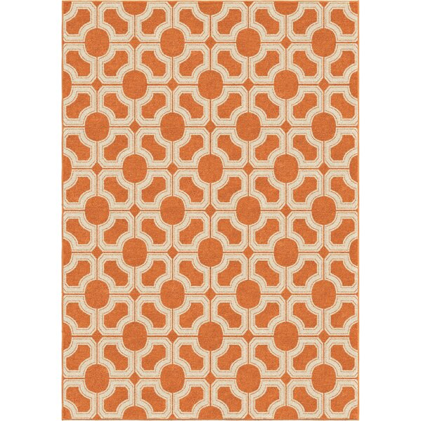 Portwood Autumn Indoor/Outdoor Area Rug by Beachcrest Home