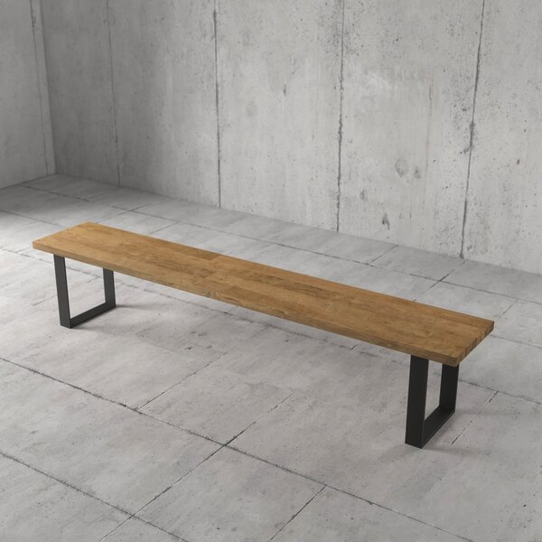 Beckner Wood Bench by Foundry Select