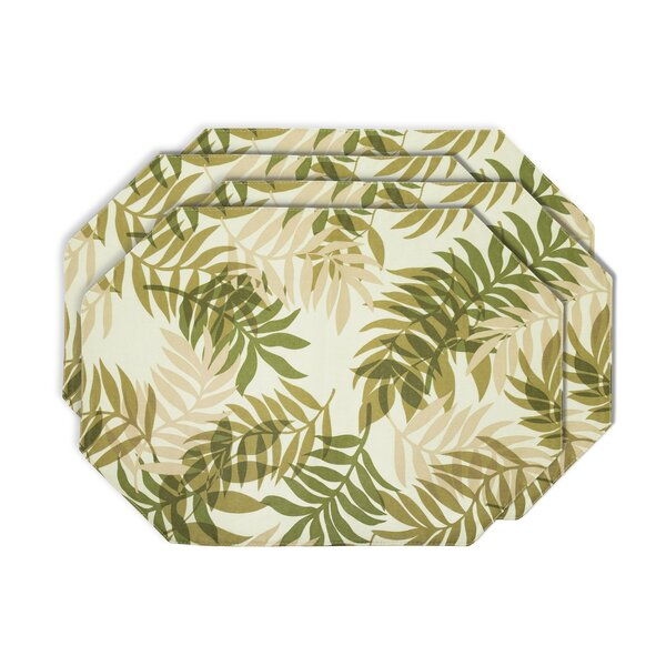 Fern Placemat (Set of 4) by Yourtablecloth