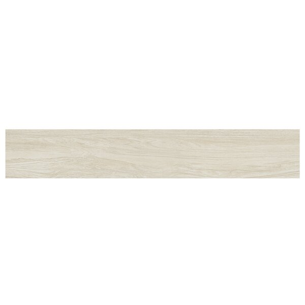 Naturalia Betulla 6 x 36 Porcelain Wood Look Tile in White by Casa Classica