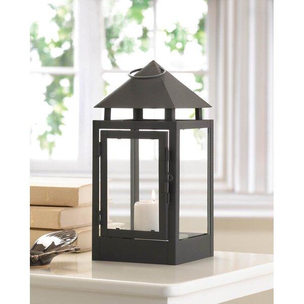 Iron and Glass Lantern by Zingz & Thingz
