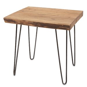 Soila End Table by Union Rustic