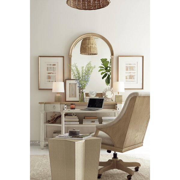 Carrie Executive Desk with Chair by One Allium Way