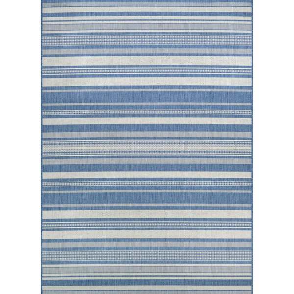 Anguila Blue/Gray Area Rug By Beachcrest Home