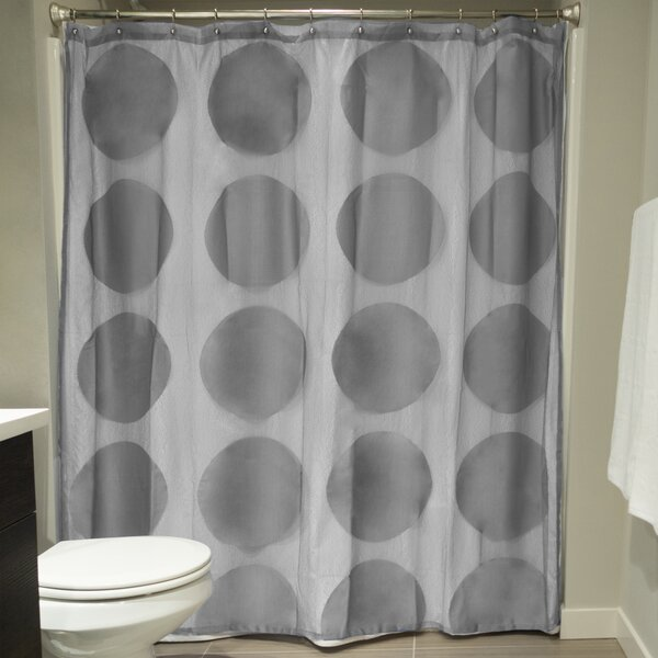 Aries Lace Shower Curtain by Wrought Studio