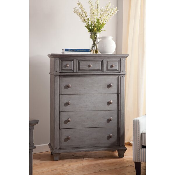 Lares 5 Drawer Chest by One Allium Way