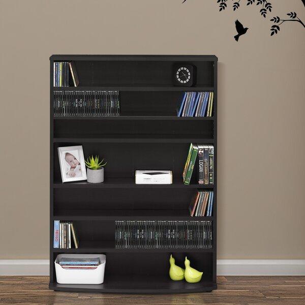 Lansing 6-Tier Multimedia Wall Mounted Storage By Ebern Designs
