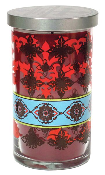 Rose Petals Designer Candle by Acadian Candle