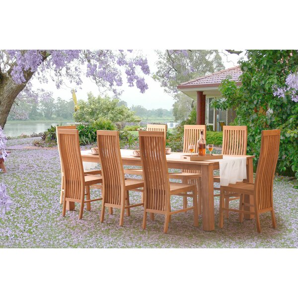 Brenner Teak Patio Dining Chair by Darby Home Co Darby Home Co