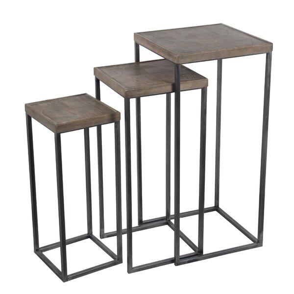 Ehrika 3 Piece Nesting Tables by Gracie Oaks