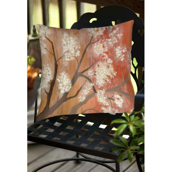 Mandarin Mist Indoor/Outdoor Throw Pillow by Manual Woodworkers & Weavers
