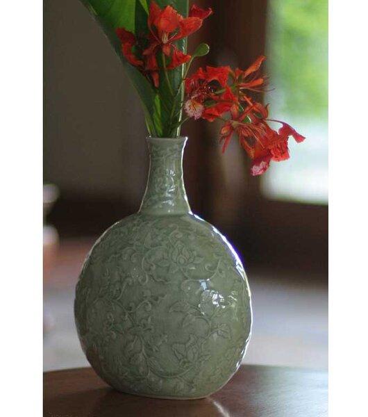 Exotic Flora Vase by Novica