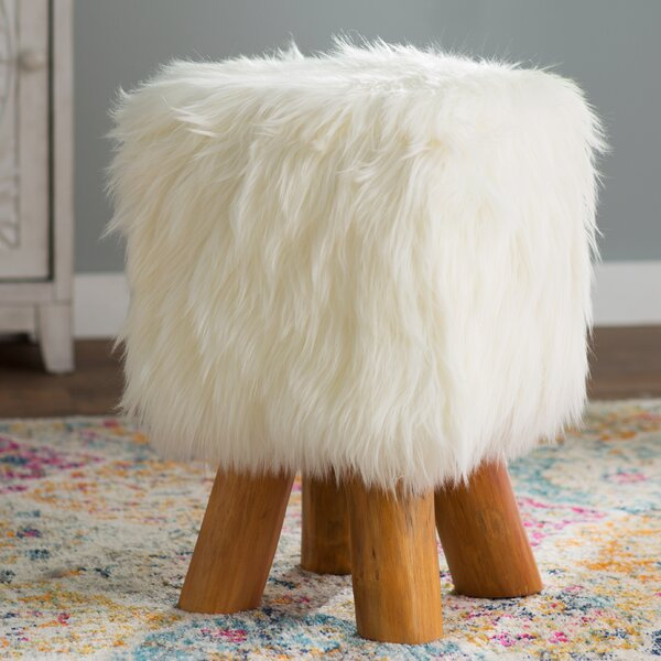 Ozella Accent Stool by Bungalow Rose