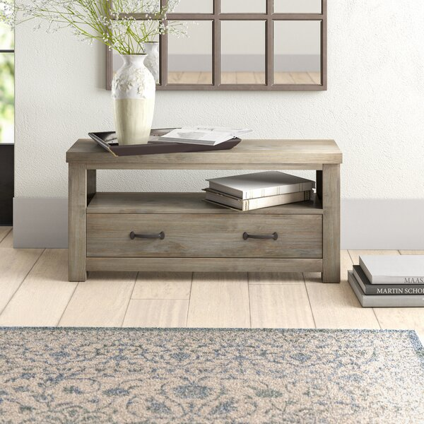 Bedlington Wood Storage Bench by Greyleigh Greyleigh