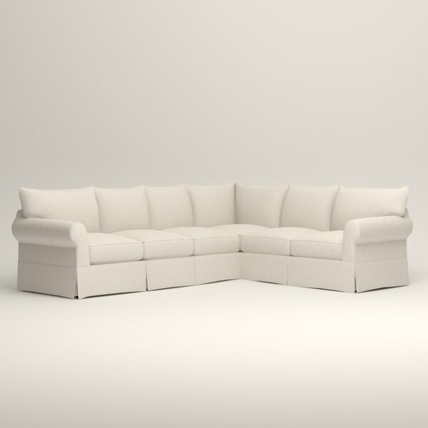 Jameson Slipcovered L-Shaped Sectional by Birch Lane™ Heritage