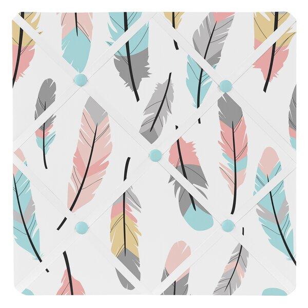 Feather Photo Memo Board By Sweet Jojo Designs.