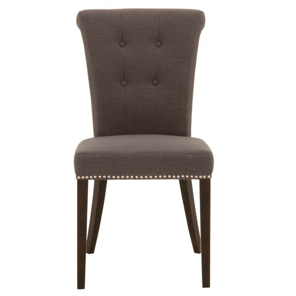 Mcginnis Wood Upholstered Dining Chair (Set of 2) by Canora Grey