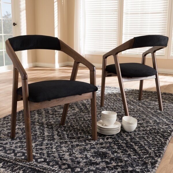 Whitlatch Solid Wood Dining Chair (Set of 2) by George Oliver