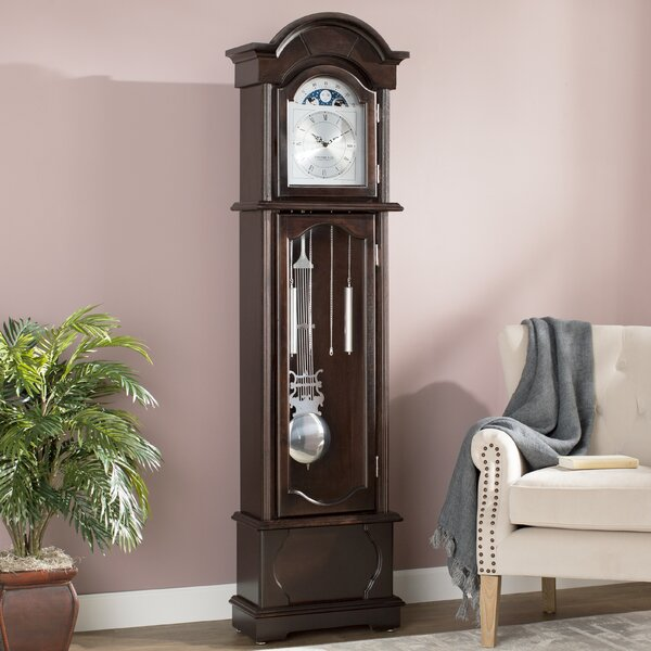 72 Grandfather Clock by Red Barrel Studio