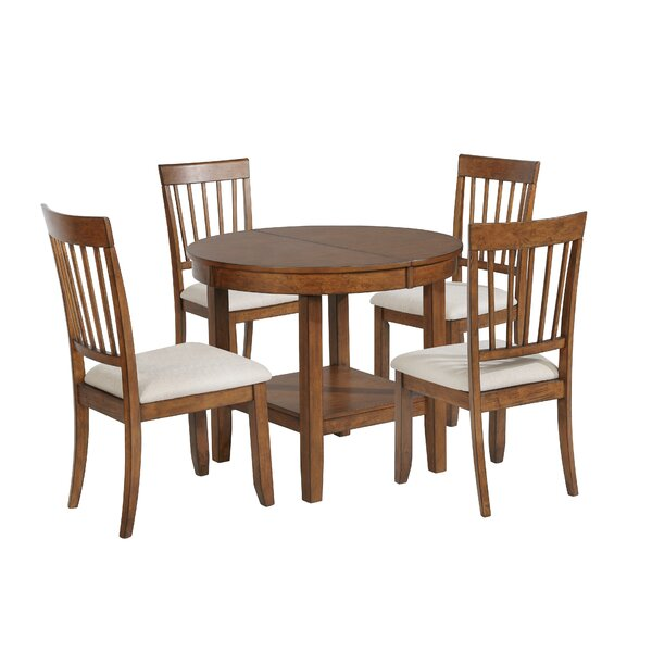 Drumraw 5 Piece Drop Leaf Dining Set by Red Barrel Studio Red Barrel Studio