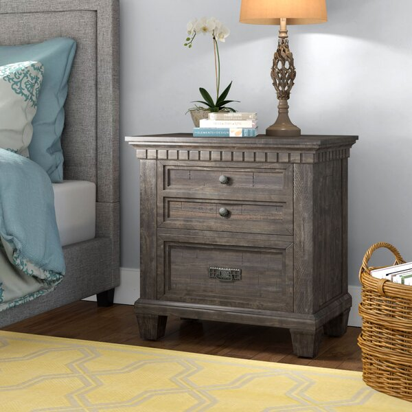 Suzann 2 Drawer Nightstand by Laurel Foundry Modern Farmhouse